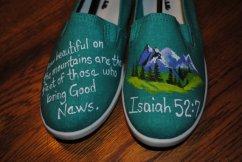 Isaiah 52 shoe